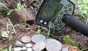 Minelab E-Trac. Тест глубины и Отзыв на металлоискатель